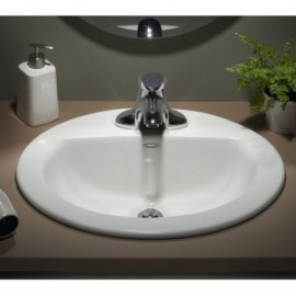 American Standard Colony C-Top China Sink 8 In Ctrs - 0346803