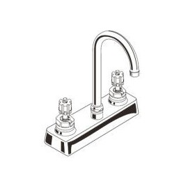 American Standard Hert Ctrst Bar Sink LHnd - 7490000