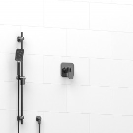 Riobel KIT123EQ 0.5 2-way Type TP thermostaticpressure balance coaxial system with hand shower rail