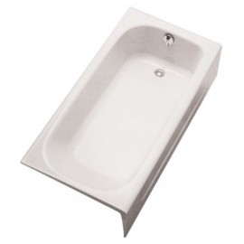 TOTO FBY1515RP R-HAND CAST IRON BATHTUB