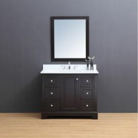 Virta 42 Inch Dalia Floor Mount Single Sink Vanity