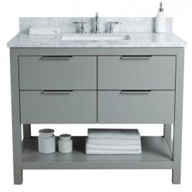 Virta 42 Inch Breeze Floor Mount Single Sink Vanity