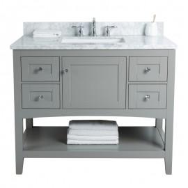Virta 42 Inch Sirena Floor Mount Single Sink Vanity
