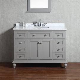 Virta 48 Inch Yasmine Floor Mount Single Sink Vanity