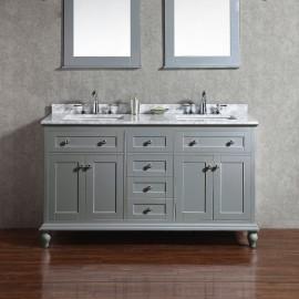 Virta 60 Inch Yasmine Floor Mount Double Sink Vanity