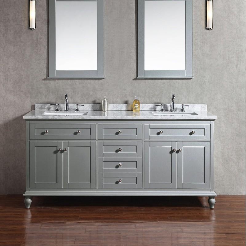 Buy Virta 72 Inch YASMINE Solid Wood Floor Mount Vanity at ...