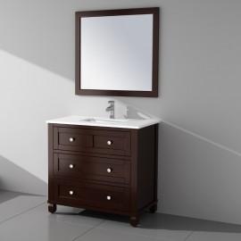 Virta 36 Inch Hampton Floor Mount Single Sink Vanity