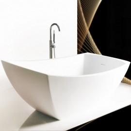 "Virta Minuet Freestanding Stone 60"" Bathtub"