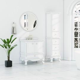 Virta 30 Inch Madera Floor Mount Single Sink Vanity