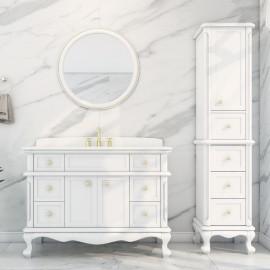 Virta 48 Inch Madera Floor Mount Single Sink Vanity