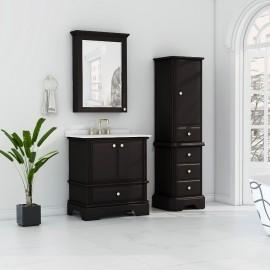 Virta 30 Inch Charm Floor Mount Single Sink Vanity