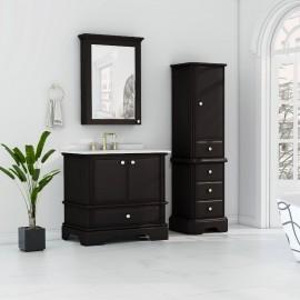 Virta 36 Inch Charm Floor Mount Single Sink Vanity