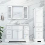 Virta 48 Inch Charm Floor Mount Single Sink Vanity