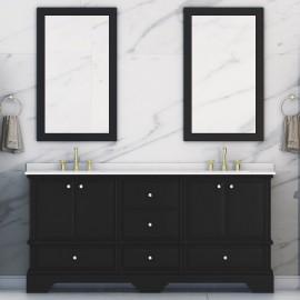 Virta 72 Inch Charm Floor Mount Double Sink Vanity