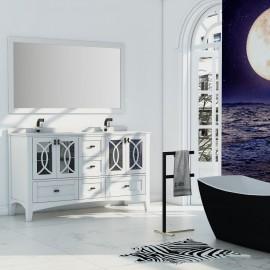 Virta 60 Inch Romance Floor Mount Double Sink Vanity