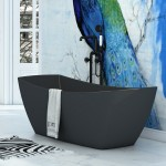 Virta Venice Free Standing Acrylic Bathtub