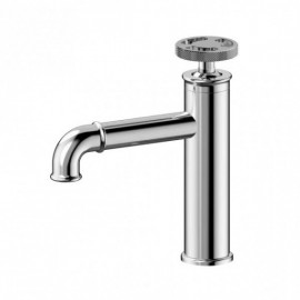 Empyrean ROSTO01 Rose Single Lavatory Faucet with Top Knurled Wheel