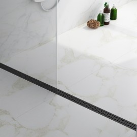 Virta Linear Drain Stainless Steel - U