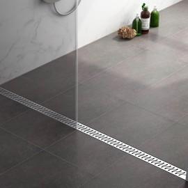 Virta Linear Drain Stainless Steel - S