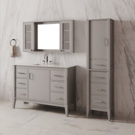 Virta 42 Inch Essence Floor Mount Single Sink Vanity