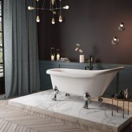 "Virta Victoria Freestanding Acrylic 67"" Bathtub"