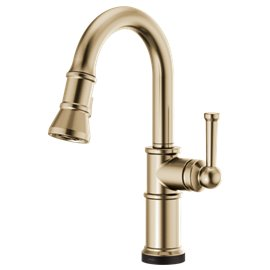 BRIZO ARTESSO 64925LF PULL-DOWN PREP FAUCET WITH SMARTTOUCH?« TECHNOLOGY