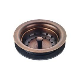 Franke TDB35-AC 3 12 basket waste fitting Antique copper