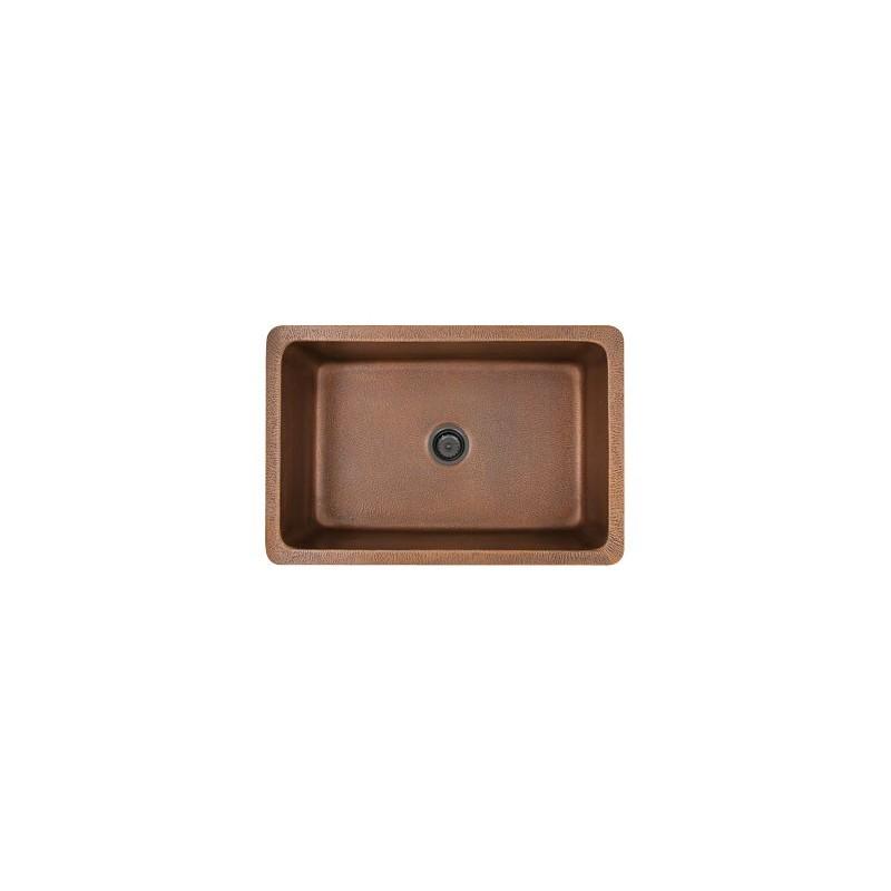 Cheap Franke Sinks : ... > Franke > Franke DEJ710-30 16 ga copper single apron front sink