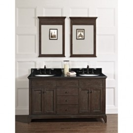 Fairmont Designs 1503-V6021D Smithfield 60 Double Bowl Vanity