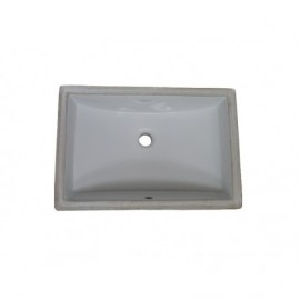 Fairmont Designs S-200WH Sinks Rectangular Ceramic Undermount Sink