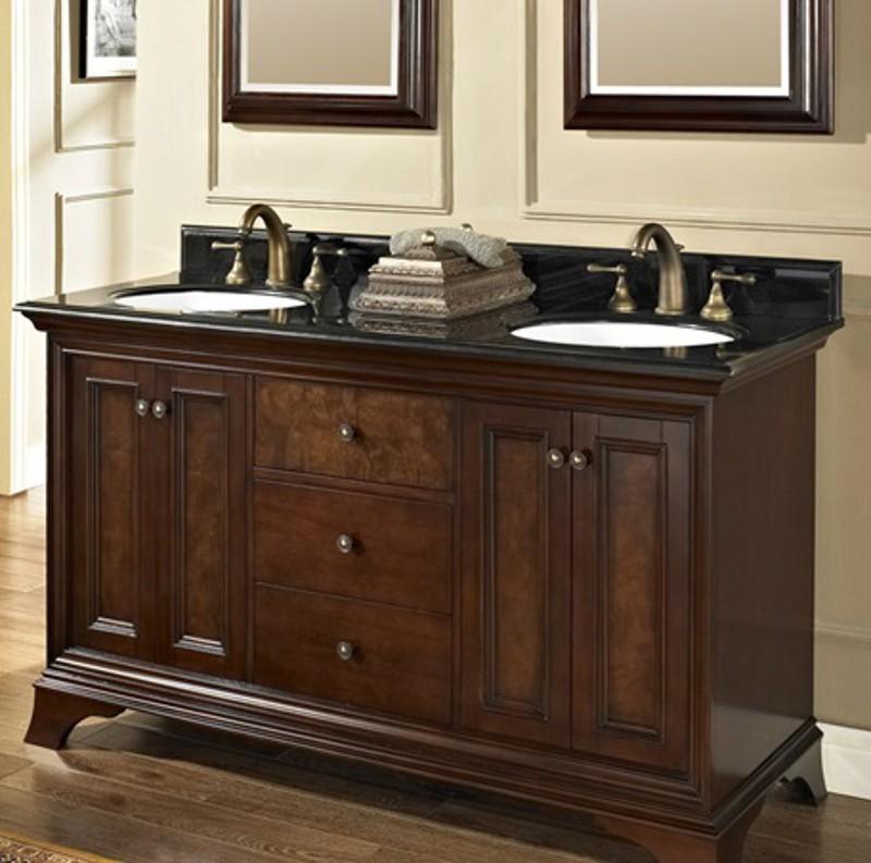 Fairmont Designs 159-V6021D Newhaven 60 Double Bowl Vanity - Kolani Kitchen  & Bath