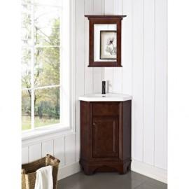Fairmont Designs 159-CV26 Newhaven 26 Corner Vanity and Sink Set