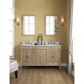 Fairmont Designs 142-V Double Rustic Chic Double Bowl Vanity