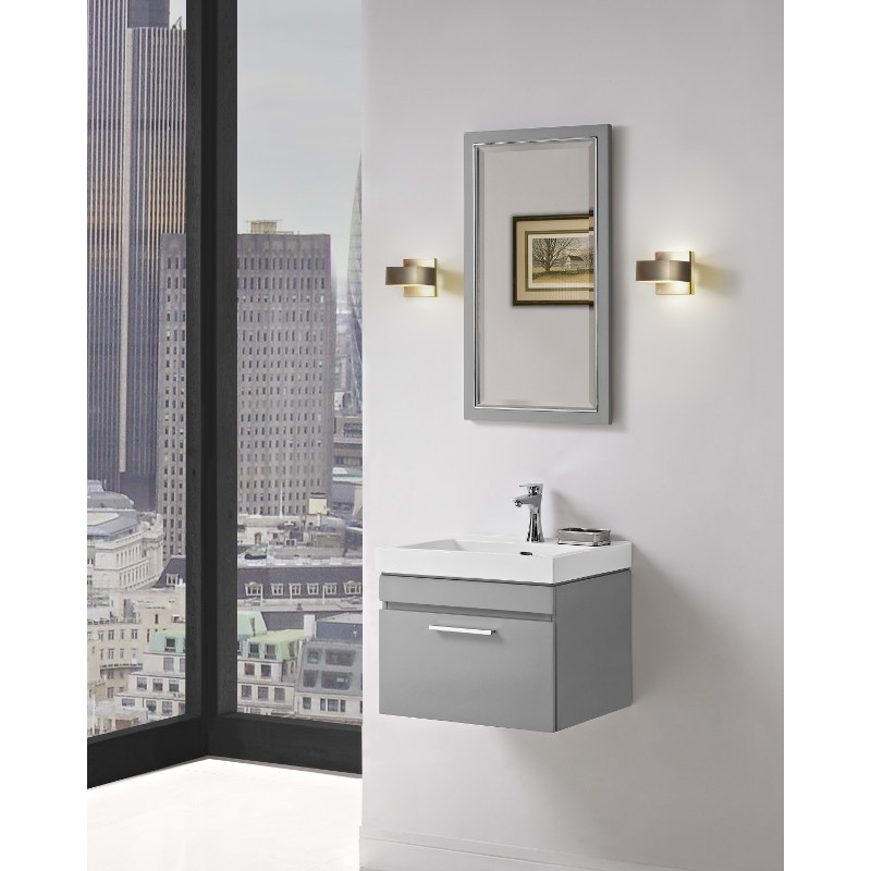 fairmont designs 179wv wall mount vanity and sink set - Fairmont Vanities