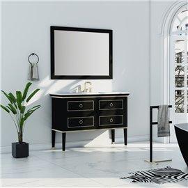 Virta 48 Inch Blackstar Floor Mount Single Sink Vanity
