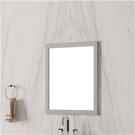 """Virta Essence ESS-MR-2436 Solid Wood 24"""" Bathroom Mirror"""