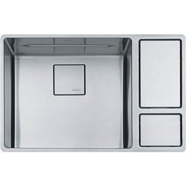 Franke CUX110-18 CHEF CENTER UNDERMOUNT SINK SINGLE SS -STAINLESS STEEL