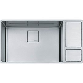 Franke CUX110-24 CHEF CENTER UNDERMOUNT SINK SINGLE SS -STAINLESS STEEL