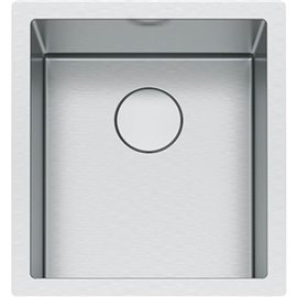 Franke PS2X110-15 PROFESSIONAL SERIES 2.0, SINGLE SINK. 8 MM RADIUS, INLCUDED ACCESSORIES