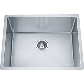 """Franke ODX110-2310-316 LAUNDRY SINK, 18 GA STAINLESS STEEL, TYPE 316 INCLUDING WASTE FITTING, 10"""" DEEP -STAINLESS STEEL"""