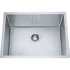 """Franke ODX110-2312-316 LAUNDRY SINK, 18 GA STAINLESS STEEL, TYPE 316 INCLUDING WASTE FITTING, 12"""" DEEP -STAINLESS STEEL"""