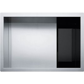 Franke CLV110-24 CRYSTAL UNDERMOUNT SINK 16G SS SGL 27 CAB -STAINLESS STEEL
