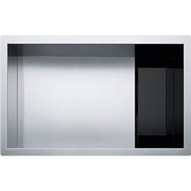 Franke CLV110-28 CRYSTAL UNDERMOUNT SINK 16G SS SGL 33 CAB -STAINLESS STEEL