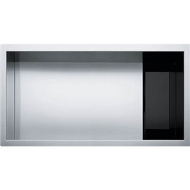 Franke CLV110-31 CRYSTAL UNDERMOUNT SINK 16G SS SGL 36 CAB -STAINLESS STEEL