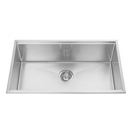 Kindred KCS30 18 gauge Designer Series topmount single bowl 10 mms radius includes grid glass board with cutting mats and sta...
