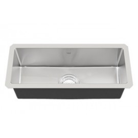 Kindred KCUS22A 18 gauge Designer Series accessory rail single undermount sink