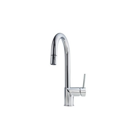 Buy Kindred Kfpd1100 Gooseneck Pull Down Spray Faucet Dual