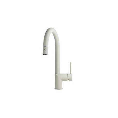 Buy Kindred KFPD1200 Gooseneck pull down spray faucet dual stream at ...