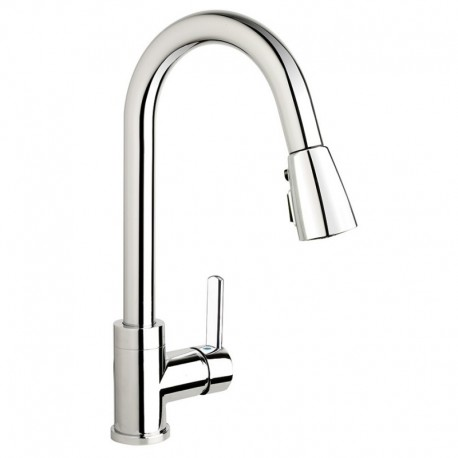 Buy Kindred Kfpd2100 Gooseneck Pull Down Spray Faucet Chrome At Discount Price At Kolani Kitchen