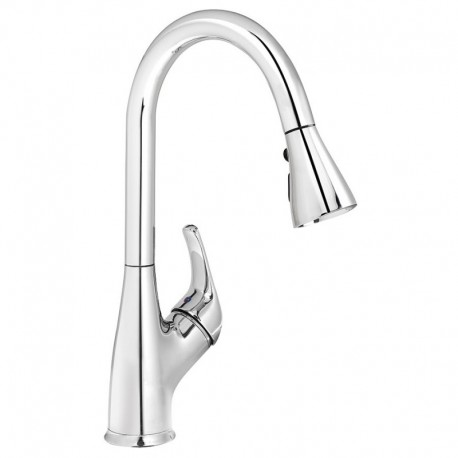 Buy Kindred KFPD3100 Gooseneck pull down spray faucet Chrome at ...